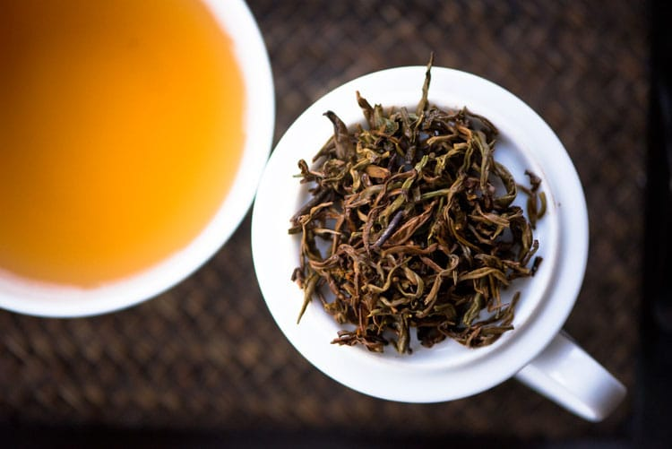 Opata-Estate-Silver-Jubilee-Oolong-Infused-leaf-liquor