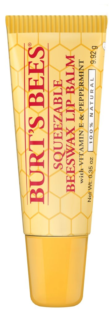 Burt's Bees Squeezable Beeswax Lip Balm High Res2