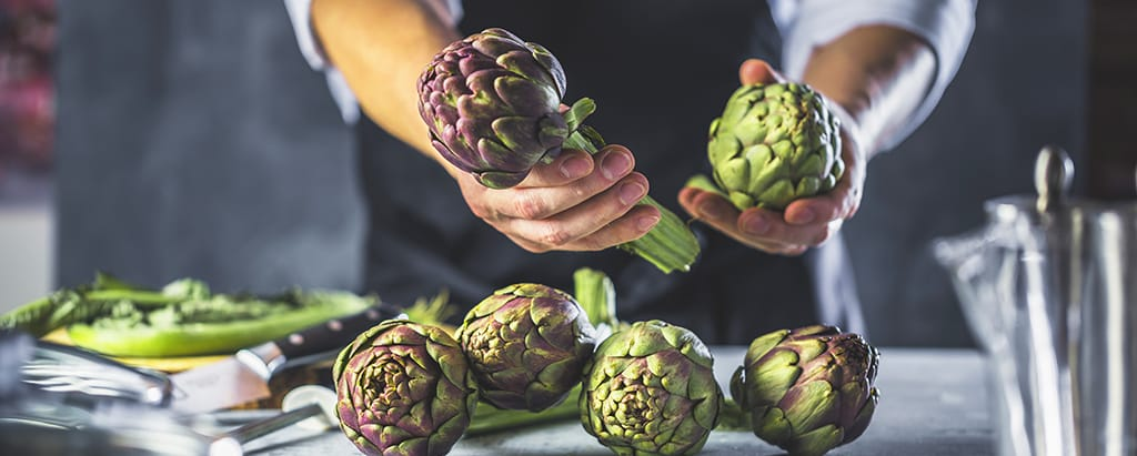 Learn how to prepare artichokes properly.